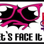 Logo Lets face it